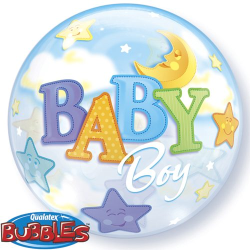 newborn baby boy balloon