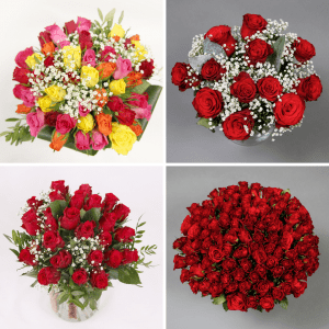 Valentines gift ideas for her- flowers