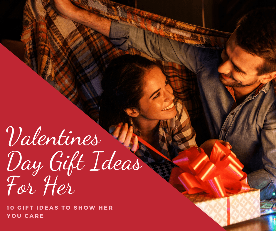 Valentines gift ideas for her- banner