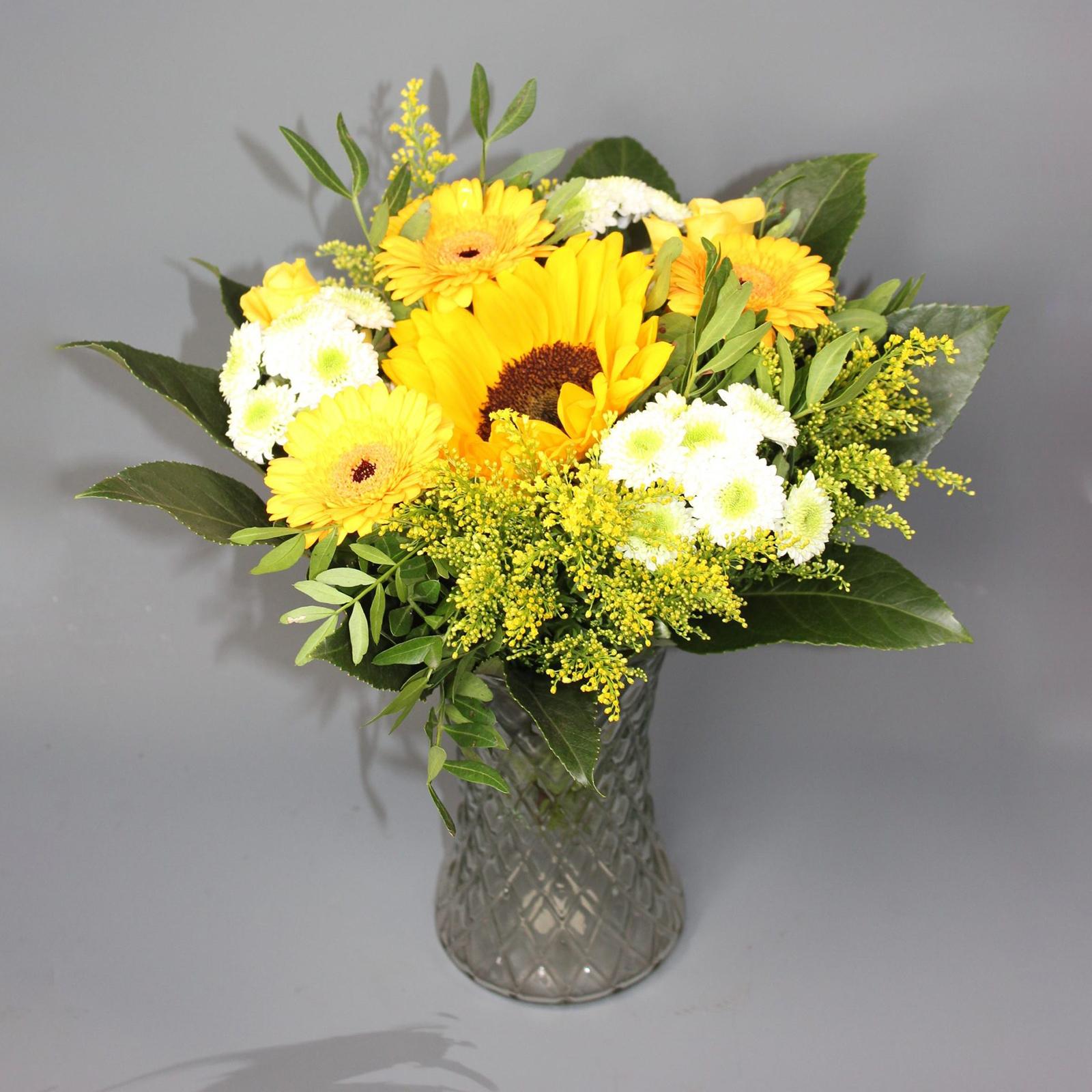 yellow-bouquet-sunflower
